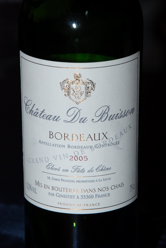Chateau Du Buisson 2005(ボルドー)